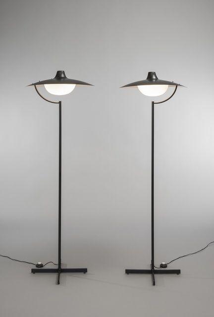 artsy lighting. jacques biny | pair of floor lamps 291 (1964) artsy lighting