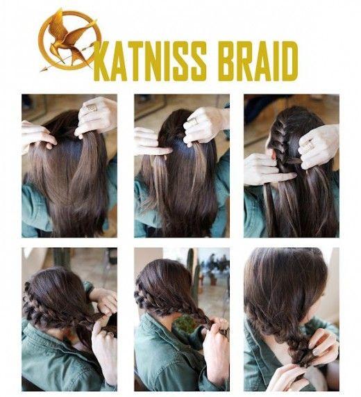 Katniss Everdeen Tutorial Hunger Games Katniss Braid Katniss