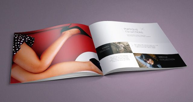 Fashion Catalog Template   Mockup    Template