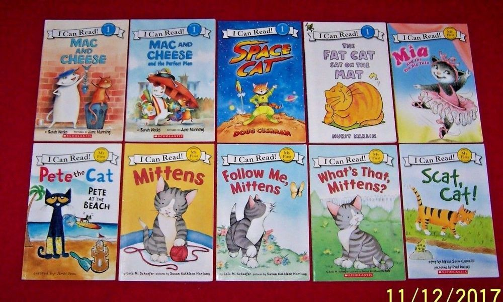 10 Mittens Pete The Cat I Can Read Books Mac Cheese Mia Readers Ages 4 7 Animal Books Pete The Cat Animals For Kids