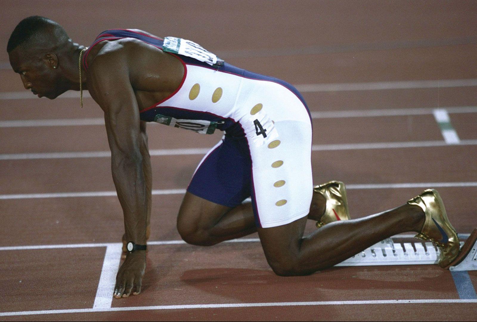 track athletes everthose Gold shoes