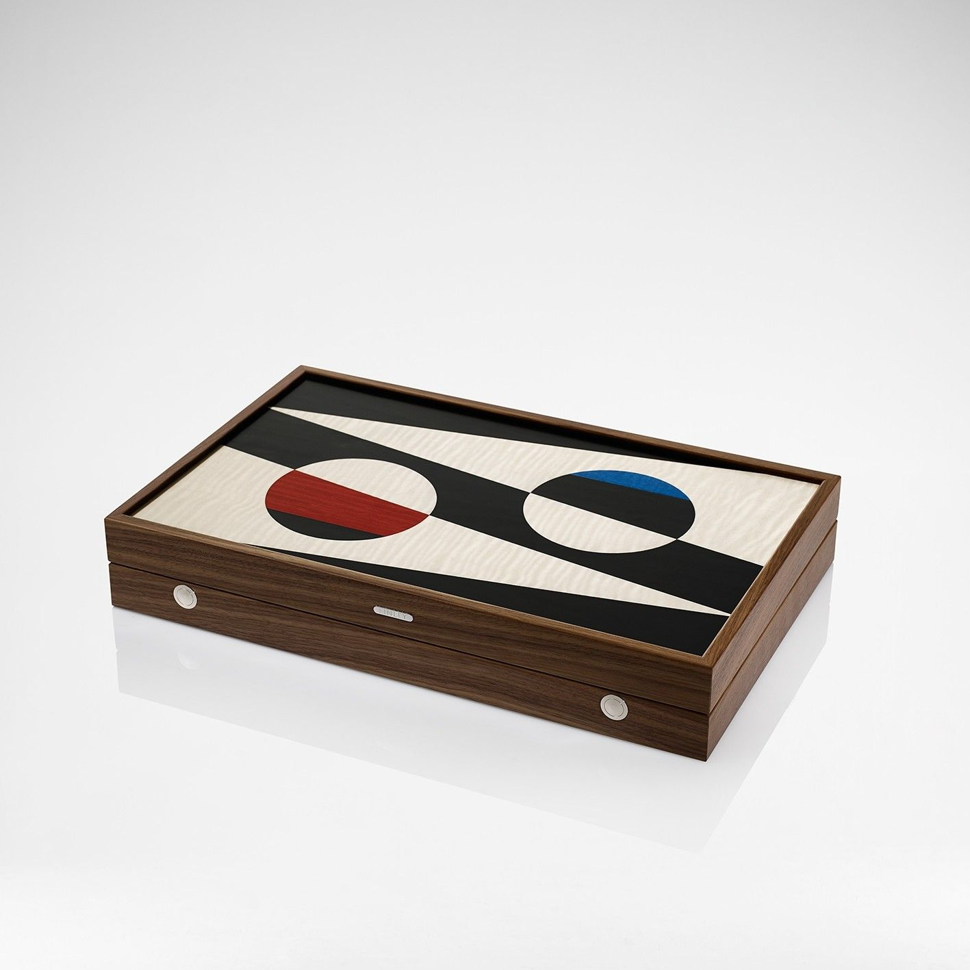 LINLEY | Games and Sporting | Red Backgammon Board | Luxury Gifts & Homeware, Furniture, Interior Design, Bespoke