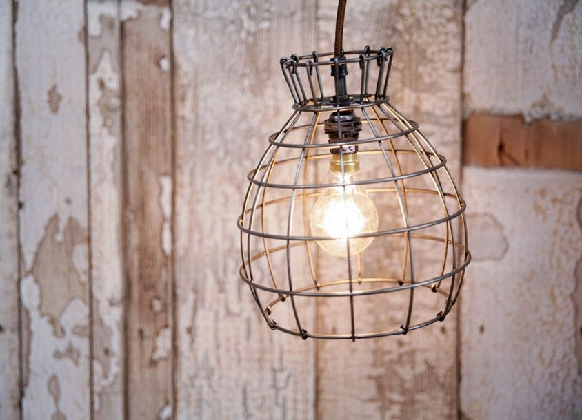 deevika pendant decorate your home with this wire cage lamp shade