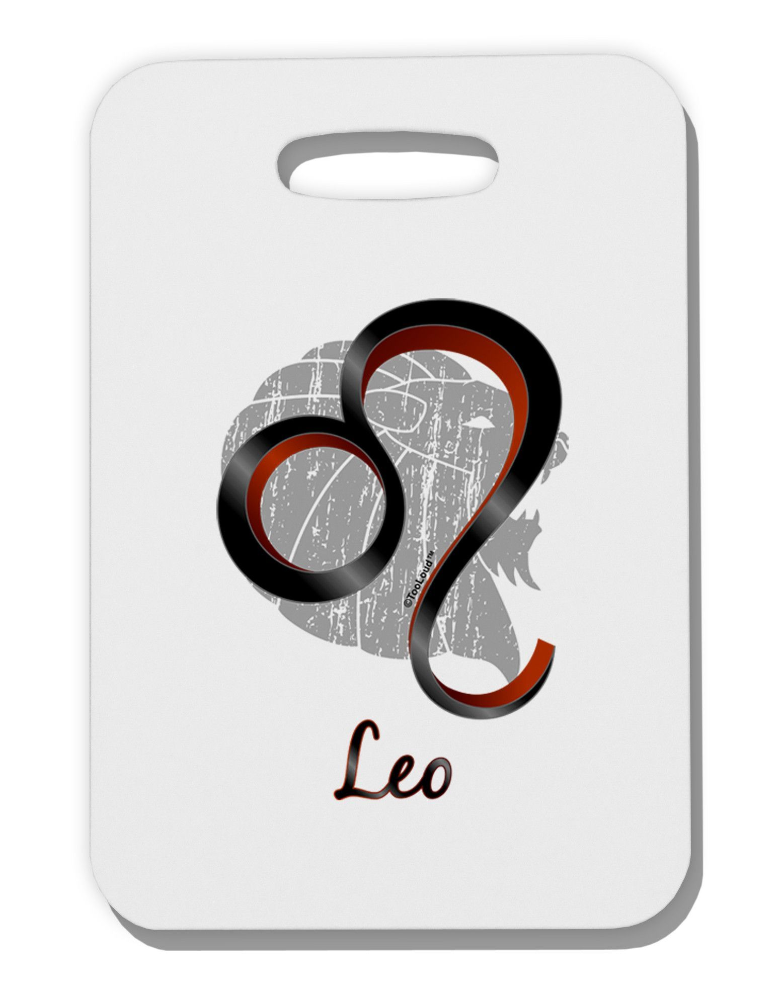Leo symbol thick plastic luggage tag leo symbol symbols and if you are a proud leo this huge leo symbol design is perfect for you these fun printed luggage tags are a great personal touch on yo biocorpaavc