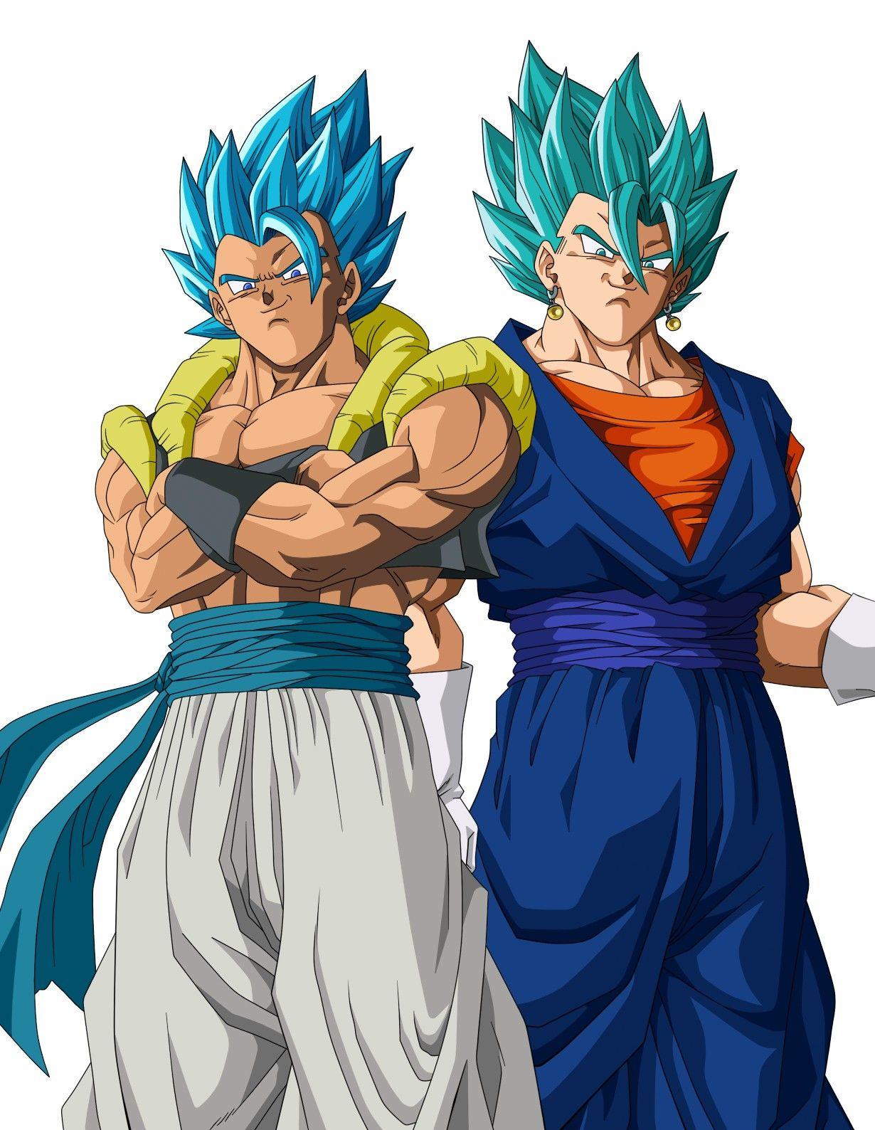 Gogeta Y Vegetto Anime Dragon Ball Super Dragon Ball Super Manga Dragon Ball Super Goku
