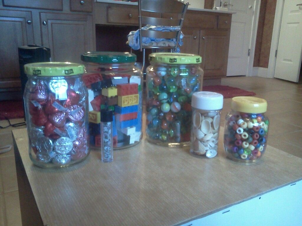 Jars for kindergarten communityus estimation station other