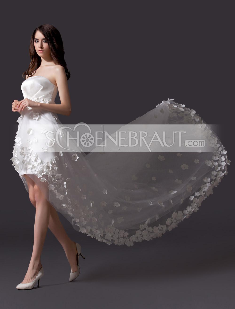 Hochzeitskleid mit Schmetterling spitze aus tüll [#UD9182 ...