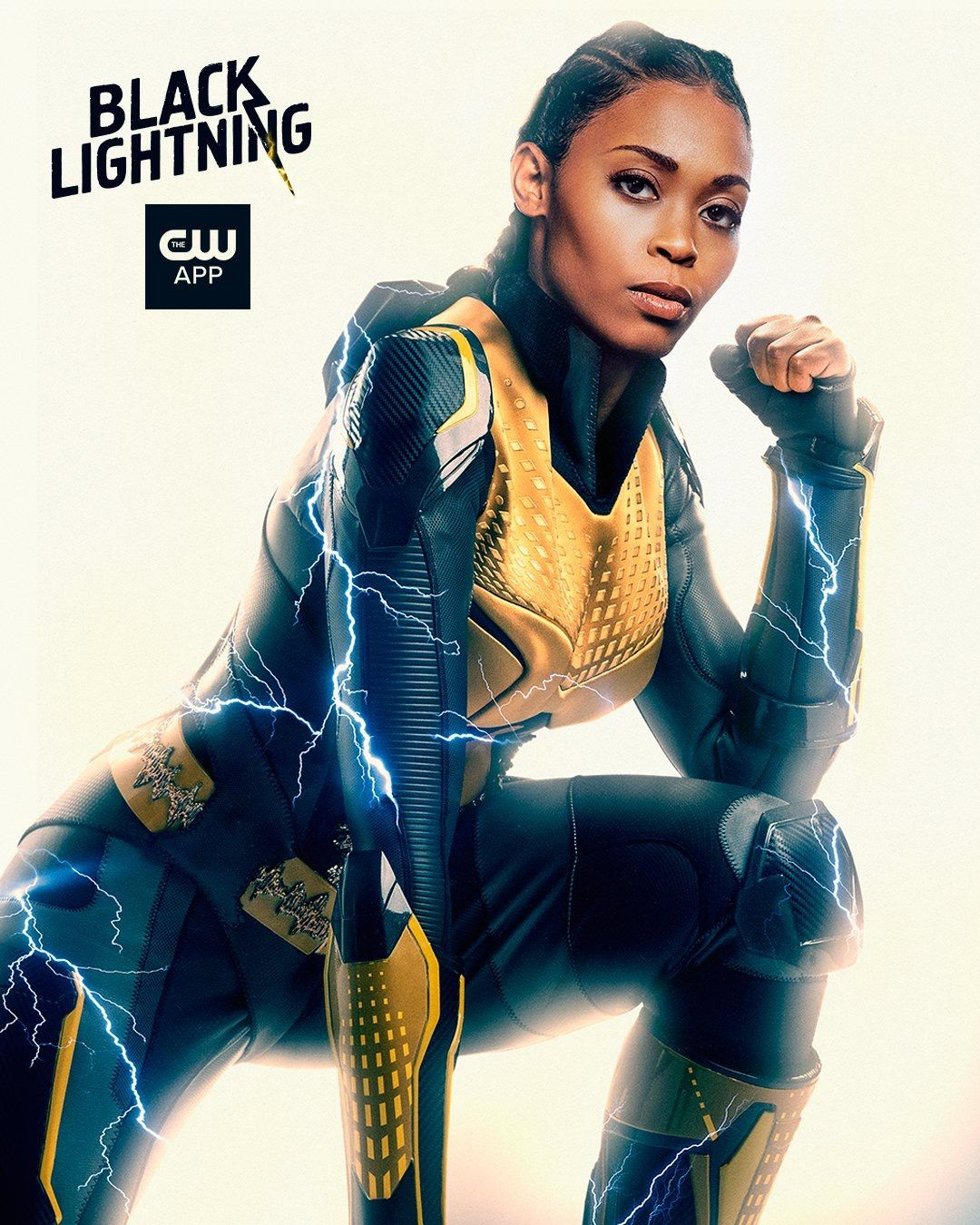 11 Of 13 Black Lightning Character Shots Thunder Anissa