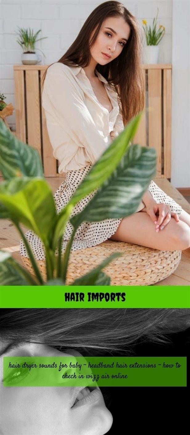 Hair imports hair edges white hair color