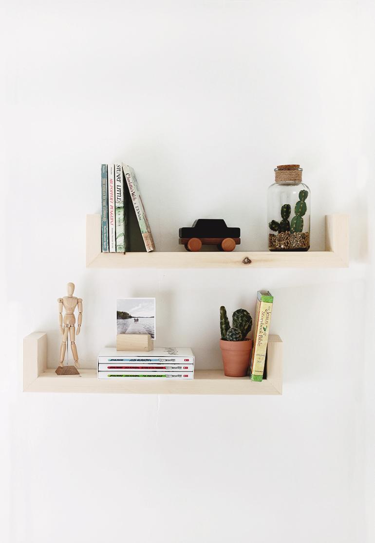 Diy Wood Wall Shelves Diy Wood Shelves Wood Wall Shelf Diy