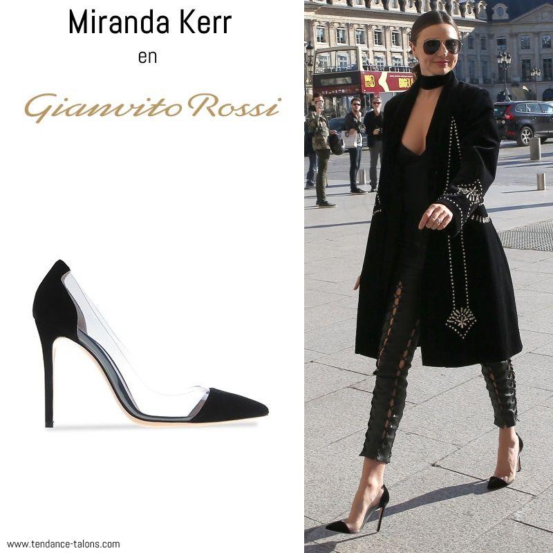 cc76eb9396 Miranda Kerr en escarpins