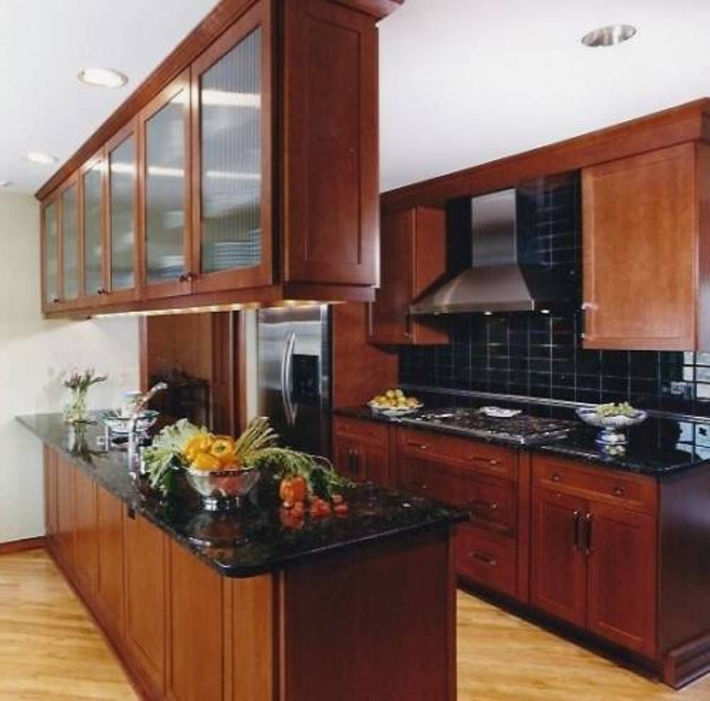 Addition storage hanging cabinets for small kitchen