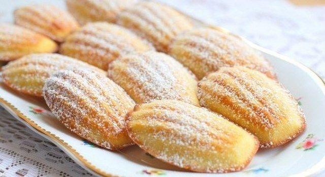 """Вкусное домашнее печенье """"Мадлен"""" за 15 минут (с ..."""