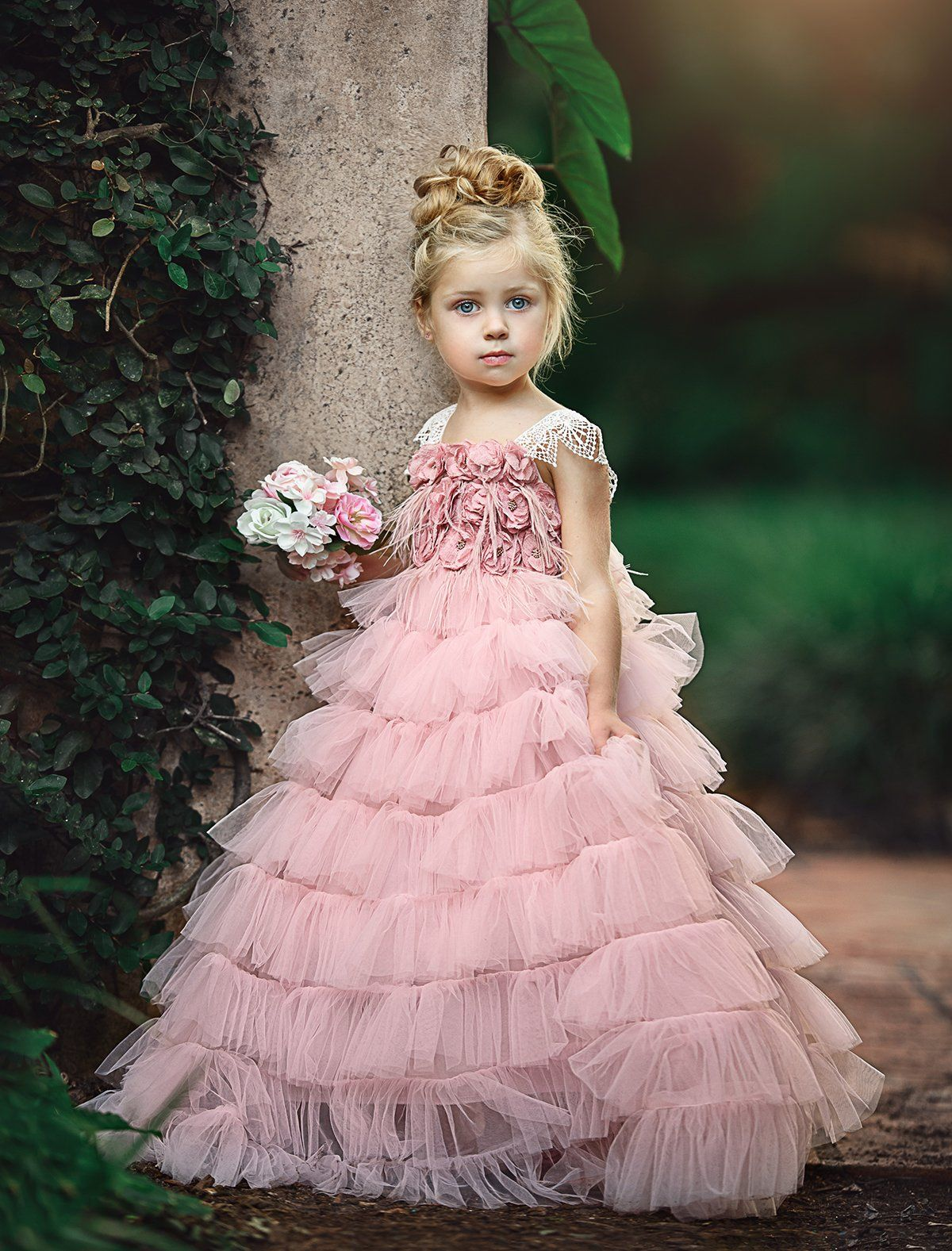 Shower her with flowers frock | Frocks