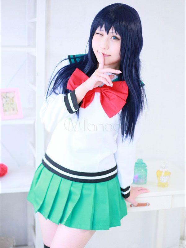 The Disastrous Life of Saiki K Kusuo Kokomi Teruhashi Cosplay Costume Uniform