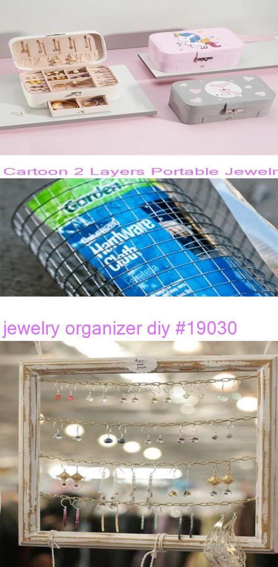 Photo of jewelry organizer diy