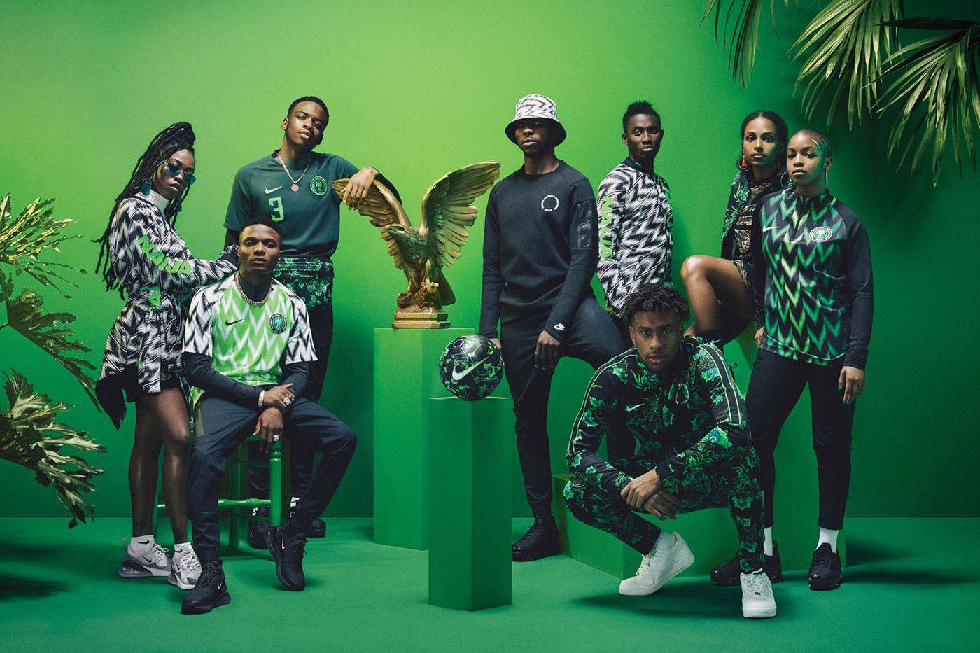 Nigeria S 2018 World Cup Kit Shortlisted For Major Design Of The Year Award In 2020 World Cup Kits Football Kits World Cup Jerseys