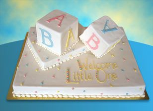 Baby Shower Sheet Cake Ideas | ... With Or Without Message Round Soccer Cake
