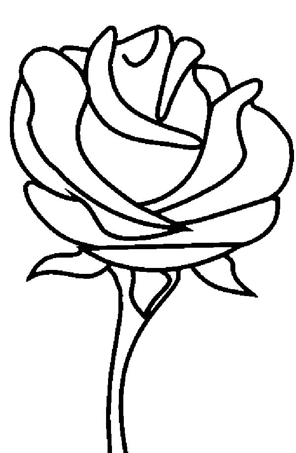 Beautiful Rose Picture Coloring Page Download Print Online Coloring Pages For Free Colo In 2020 Rose Coloring Pages Flower Coloring Pages Coloring Pages To Print