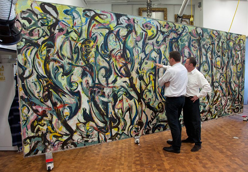 Abstract Expressionist Murals