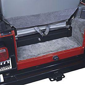Tuffy Under Seat Security Drawer For 76 06 Jeep Cj Yj Tj