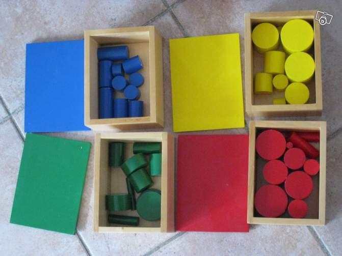 cylindres de couleurs montessori jeux jouets haute. Black Bedroom Furniture Sets. Home Design Ideas