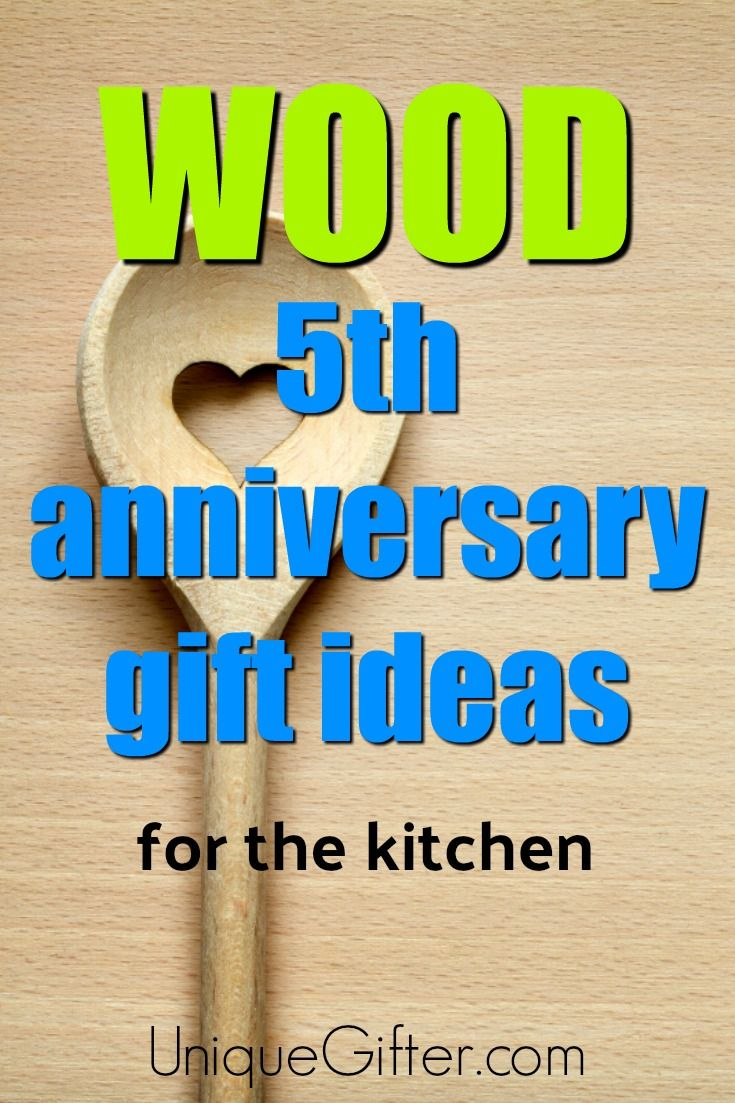 20 Wood 5th Anniversary Gifts For The Kitchen With Images 5th