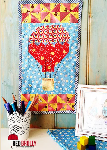 A free PDF Hot Air balloon quilt block pattern to download for ... : pdf quilt patterns free - Adamdwight.com