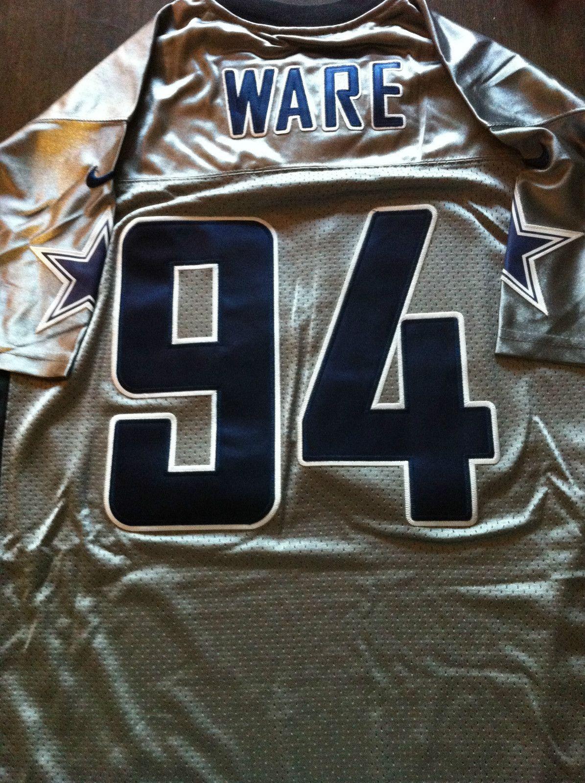 online retailer 3408e 7a2ee DeMarcus Ware grey Dallas Cowboys jersey | Demarcus Ware ...