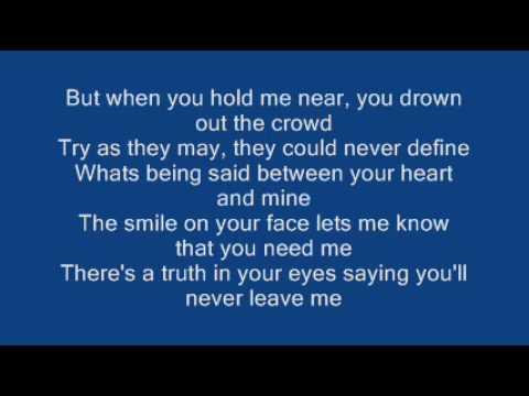 Ronan Keating When You Say Nothing At All Lyrics Youtube All Lyrics Lyrics Love Songs