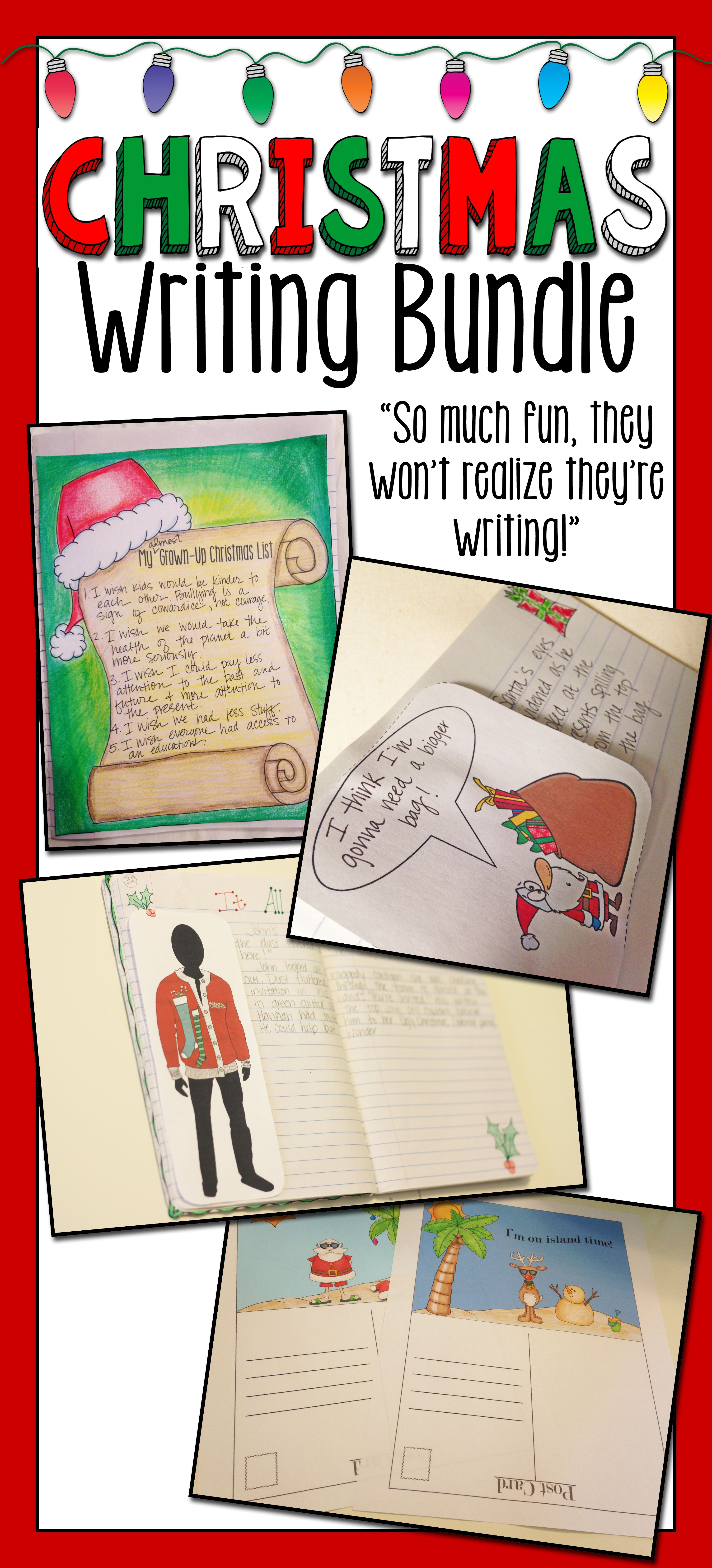 Christmas Writing Bundle With Images