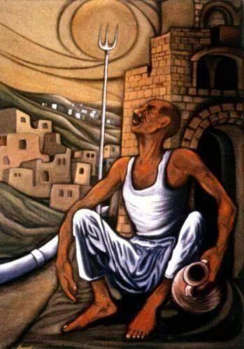 من اعمال الفنان كمال المغني Arab Artists Palestine Art Arabian Art