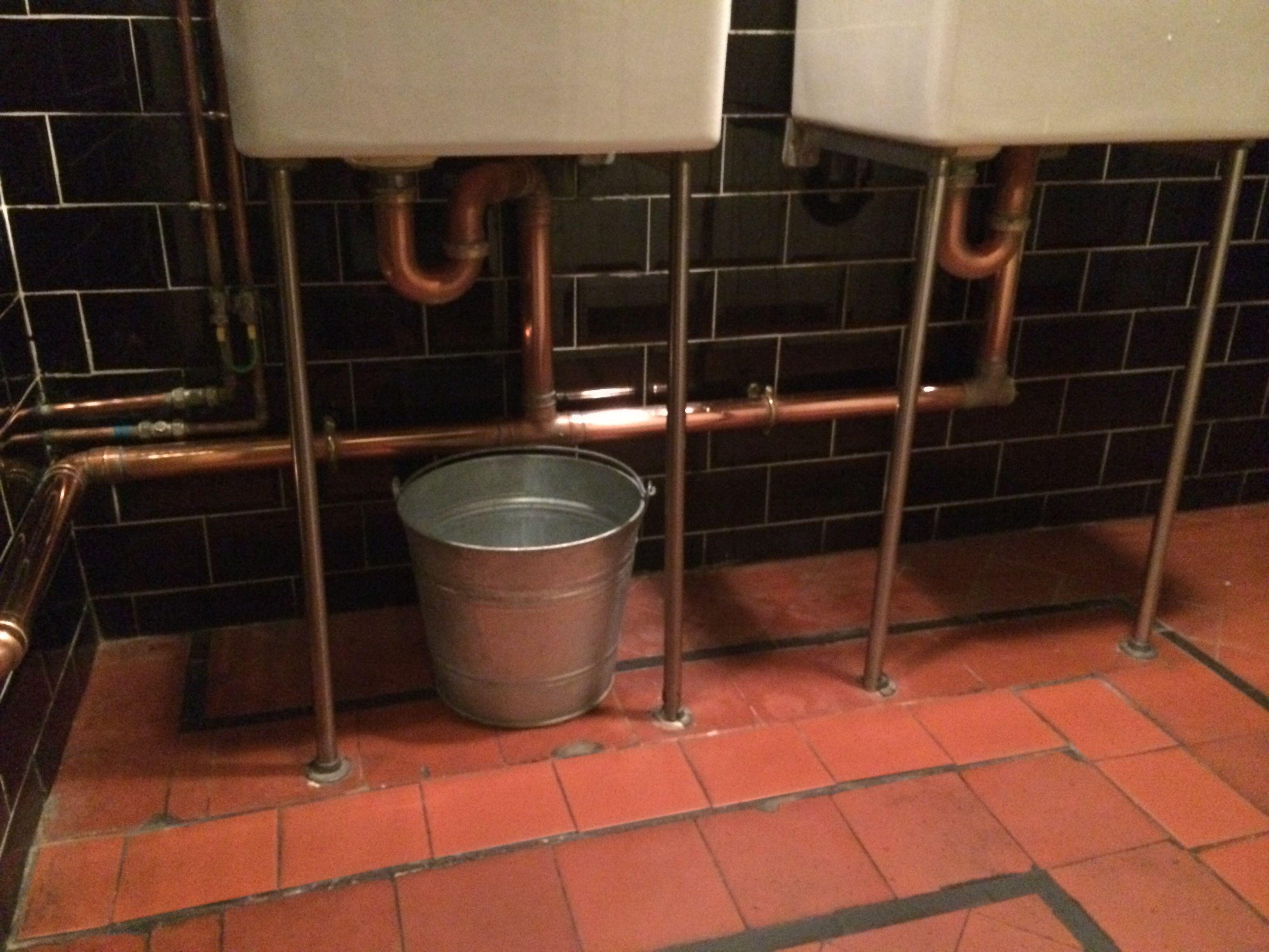 Bathroom Copper Basin Trap Butlers Belfast Sink Basins