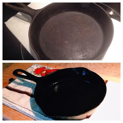 linn acres farm removing rust from cast iron cookware how to remove old gunk isn 39 t as hard as. Black Bedroom Furniture Sets. Home Design Ideas