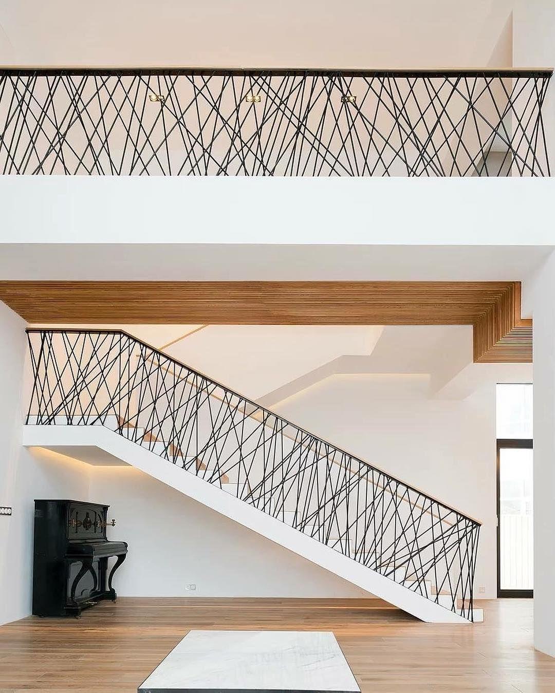 Modern Interior Staircase Materials Photo: Amazing Architecture (@amazing