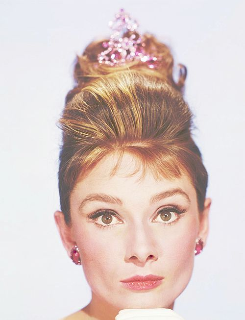 Audrey Hepburn photographed for Breakfast at Tiffany's