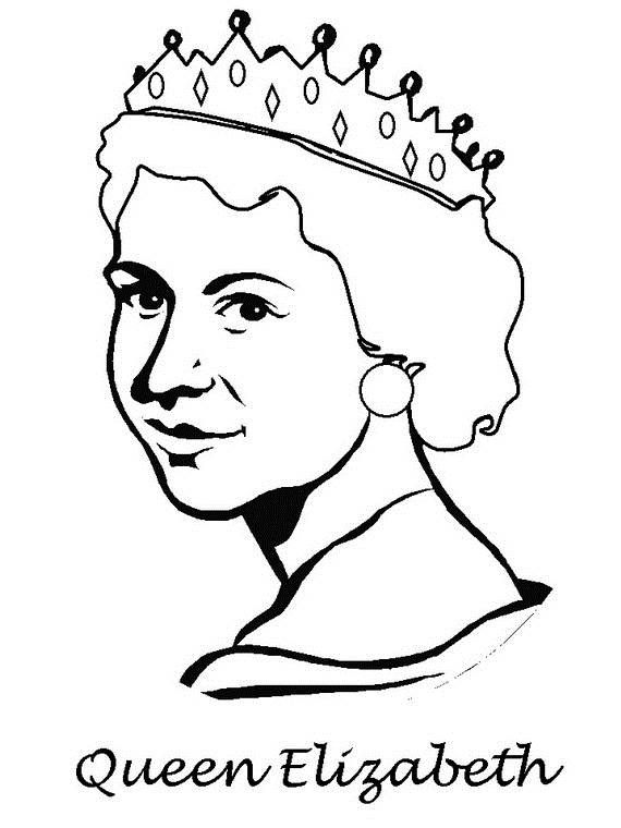 Queen Elizabeth Diamond Jubilee Coloring Pages Rhpinterest: Printable Coloring Pages For Fruits At Baymontmadison.com