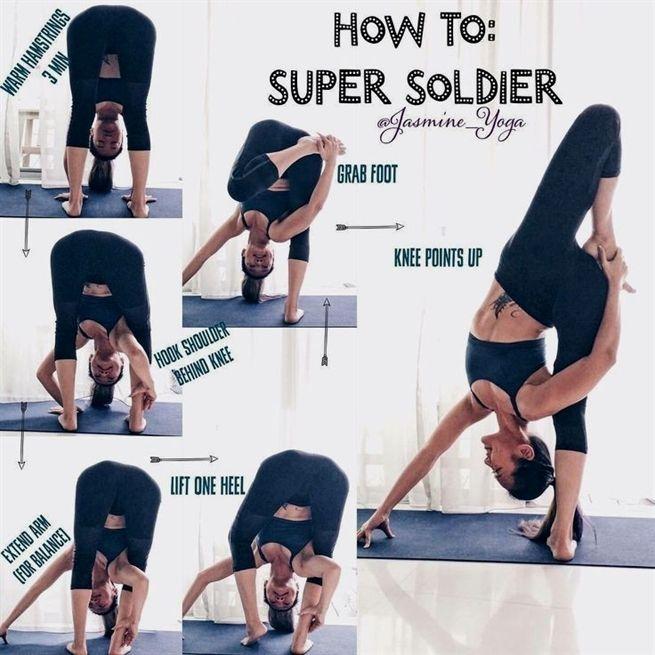 Super Soldier Yoga Poses For Intermediate Yogainspiration How To Do Yoga Yoga Fitness Advanced Yoga
