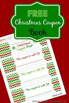 printable christmas coupon template