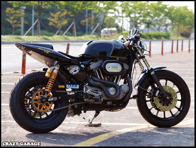 Sportster Cafe Racer Motorcycle Gavins Ironhead By Defensor Fortis