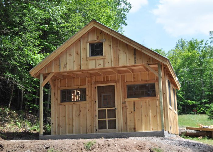 Vermont Cottage C Tiny house kits Cottage kits One room cabins
