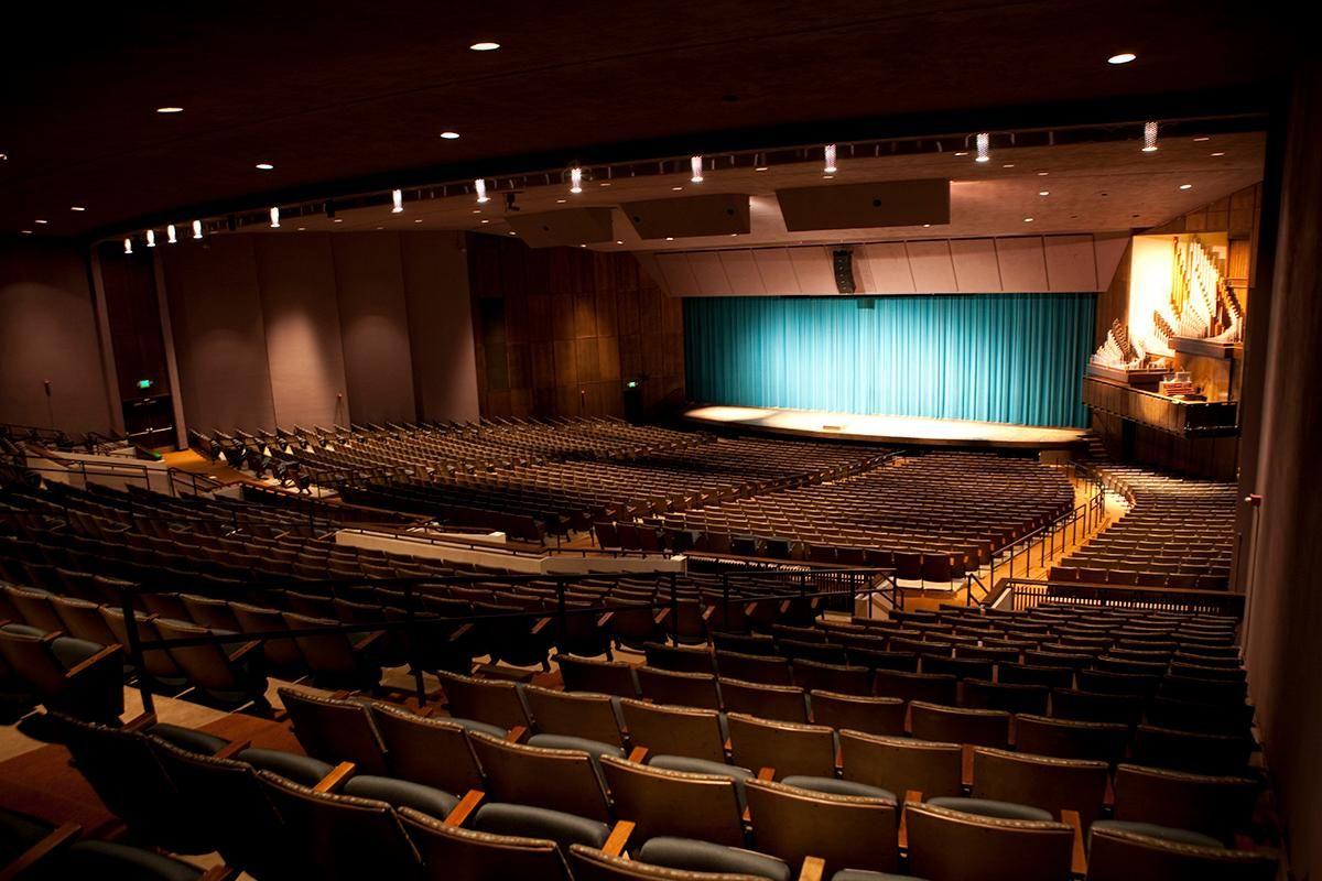 Kent Concert Hall Utah State University presents an array
