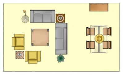 Living Room Dining Room Furniture Arrangement Chubbriverblog Said I Need Some Good Design Ideas For A Long