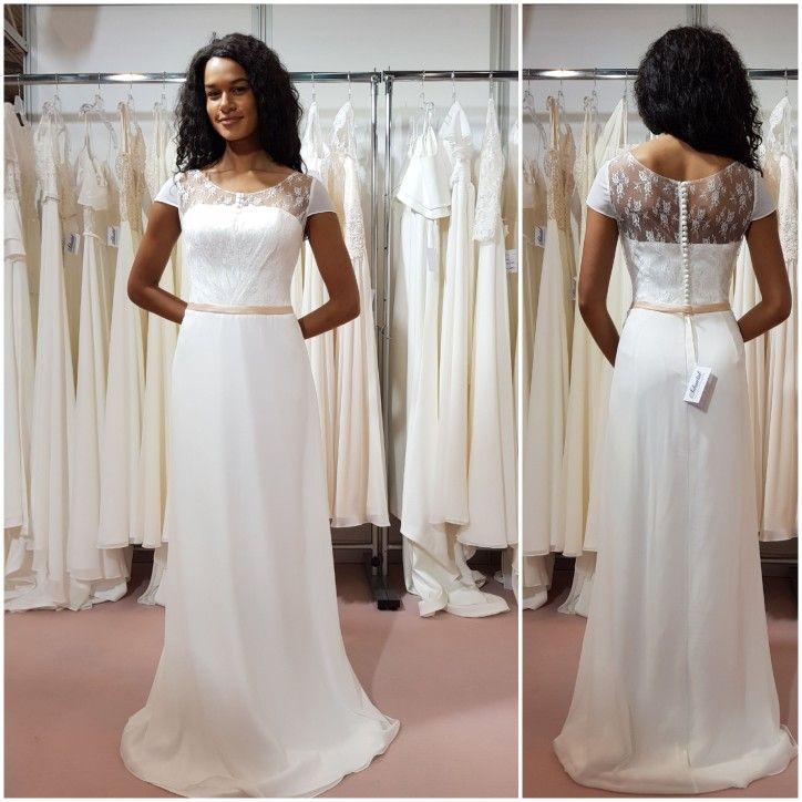 Großartig Klassischer Vintage Brautkleider Zeitgenössisch ...