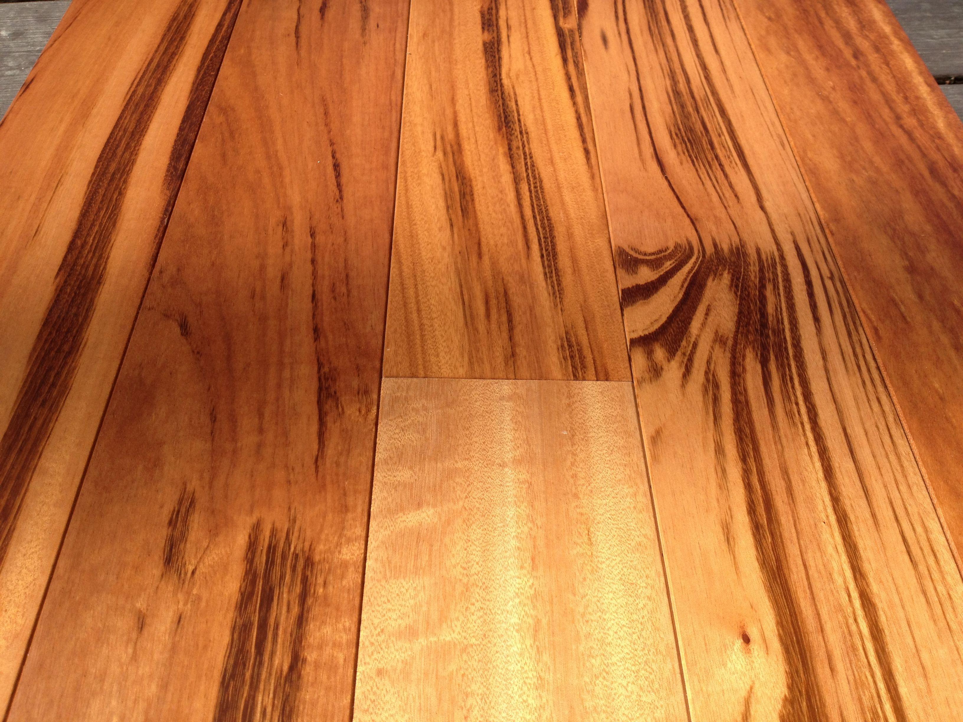 Tigerwood hardwood flooring unfinished exotic for Exotic wood flooring