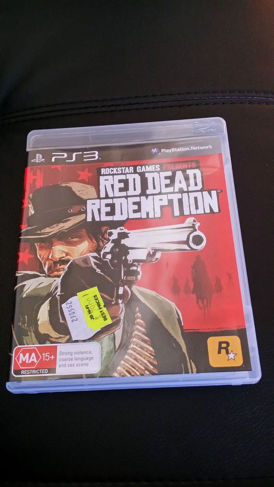 Red dead redemption ps3 game  PlayStation 3 FREE  Postage Aussie Seller