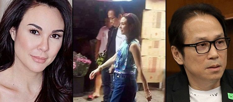 Gretchen Barretto And Atong Ang Who Are Being Linked To Each Other Romantically Were Spotted Together Once Again At Dangwa Barretto Celebrities Spotted