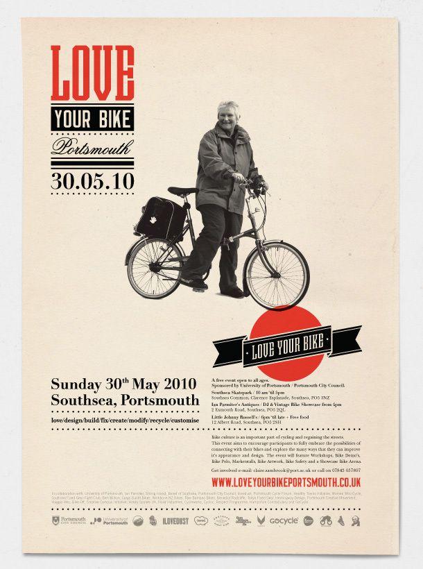 Ilovedust, Love Your Bike screen print