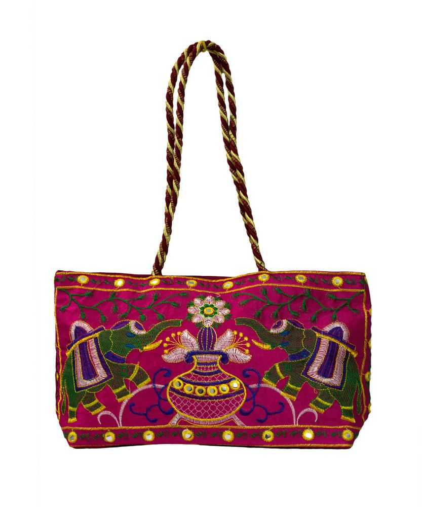 Ethnic Women Jaipur Rajasthani Handicraft Handbag Beautiful