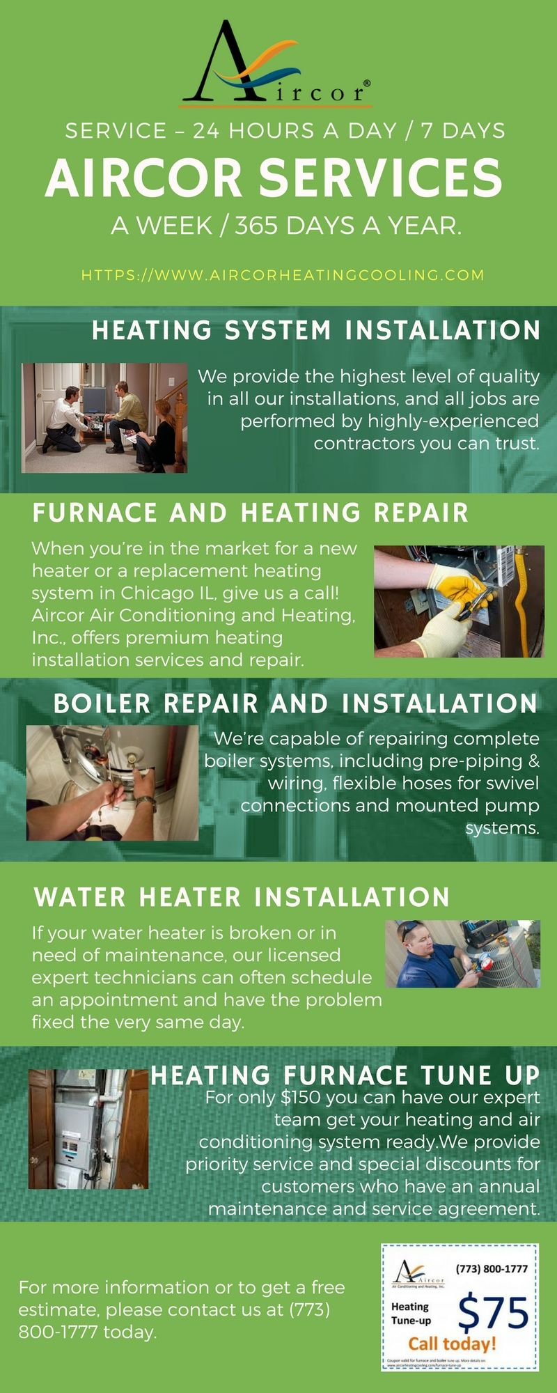 Aircor Chicago S Premier Air Conditioning And Heating With Images Air Conditioning Services Heating Repair Furnace Repair